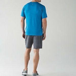Lululemon Blue Men Medium Vent Tech Shirt Sz M